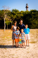 Lansing Family - Sanibel Lighthouse Beach - Sanibel Island Florida