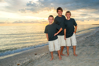Kreinbring Family - Sanibel Family Beach Photos