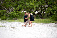 Cody Pops the Question - Sanibel Lighthouse