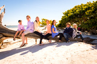 Stein Family - Sanibel - Family Beach Photos