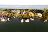 Captiva Yacht Club Aerials
