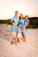 Hanser Family - Sanibel - Family Beach Photos