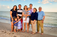 Anderson Family - Sanibel Florida - Family Beach Photos