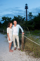 Coyne Engagement Shoot - Lighthouse Beach - Sanibel Florida