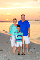 Zanoni Family - Beach Photos - Sanibel Florida